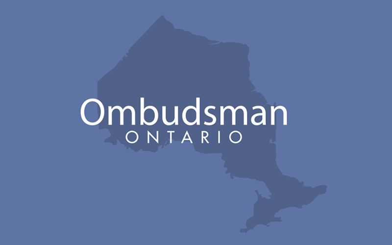 outline of ontario