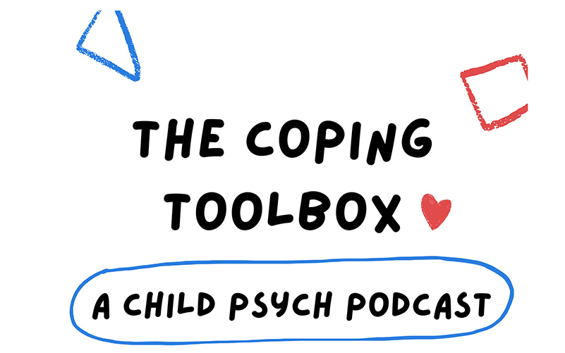drawing of title the coping toolbox