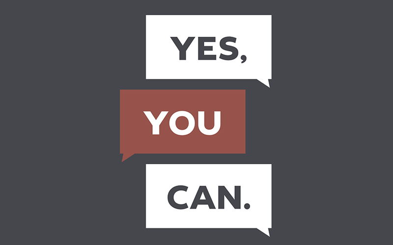 yes you can logo